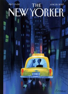 cover for New Yorker by Lou Romano