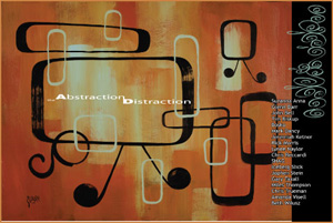Abstraction Distraction by Glenn Barr